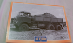 DAF AT1900DS Tipper 1968 Truck framed picture